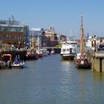 Der Hafen von Büsum